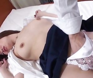 Amateur Miki Uemura plays nasty in pure Asian porn
