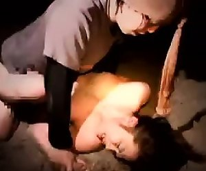 Delightful Japanese babe has a horny stud roughly pounding