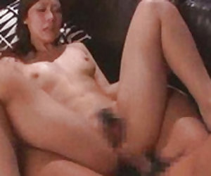 Sassy babe derives intense pleasure from a nice fuck