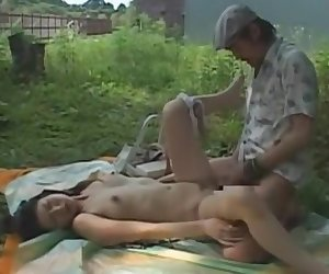 Exotic Japanese whore Shinobu Terasawa, Yukari Sanada in Fabulous Cunnilingus, Doggy Style JAV clip